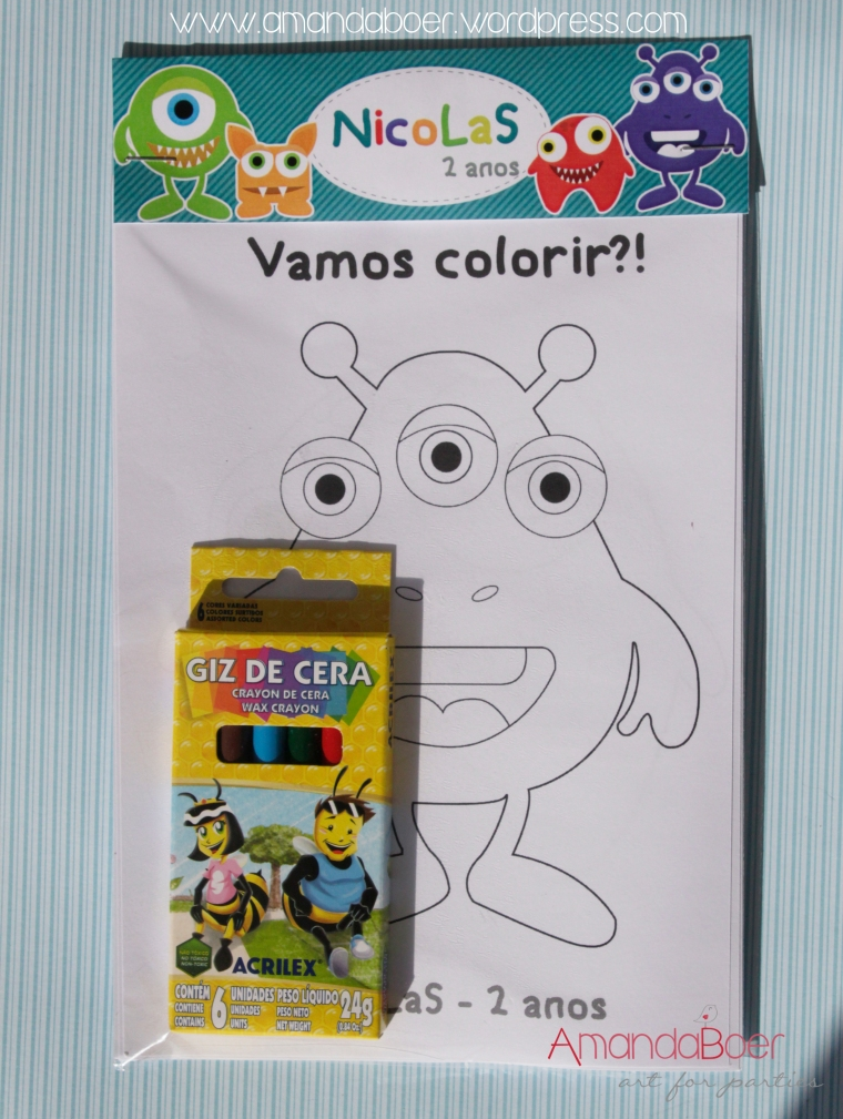 Kit Vamos Colorir